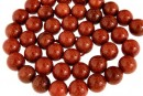 Brown goldstone, round, 10mm