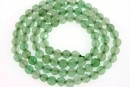 Green aventurine, faceted round, 4.5mm