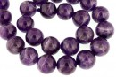 Amethyst intense, natural, round, 16mm