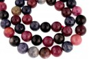 Multicolor saphire, natural, round, 10mm