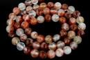 Volcano quartz, round, 6mm