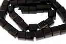Onix, black, fancy cube, 8.5x8.5mm