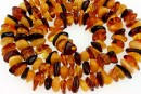 Baltic amber, natural, chip, 7-11mm