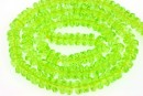 Cristal, diamant, verde neon, 6mm - 120x