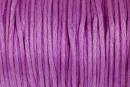 Snur satin, mov, 1.5mm - 5m