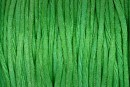 Snur satin, verde, 1.5mm - 5m