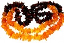Baltic amber, necklace chips, 10-16mm - 64cm