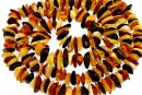 Baltic amber, necklace chips, 10-13mm