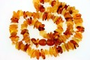 Baltic amber, necklace chips, 9-10mm
