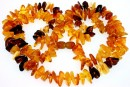 Baltic amber, necklace chips, 12-14mm