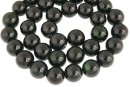 Green goldstone, round, 10mm