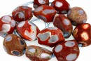 Agate, natural, faceted, free form, 25-33mm