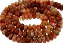 Natural sunstone, A+ grade, rondelle, 7mm