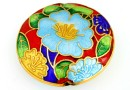 Disc decorativ cloisonne, 33mm - x1