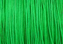 Snur matase pentru bratari, verde, 1mm - x5m