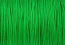 Snur matase pentru bratari, verde, 0.8mm - x5m