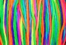 Snur shamballa, multicolor, 1.8mm - 5m