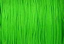 Bobina snur matase pentru bratari, verde lime, 0.8mm - x120m