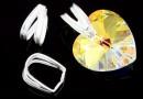 Sistem prindere pandantiv, argint 925, 9x5mm - x2