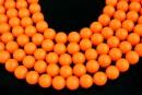 Perle Swarovski, neon orange, 6mm - x20