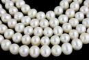 Perle de cultura - 8.5-9mm, alb