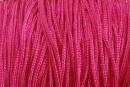 Snur matase pentru bratari, roz intens, 1mm - x30m