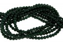Green goldstone, round, 3mm