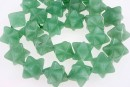 Merkabah green aventurine, 18mm