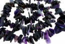 Natural sugilite, free form chips, 7-15mm