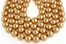Perle Swarovski, bright gold pearl, 4mm - x100