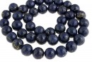 Natural turquoise stone, blue lapis, round, 10mm