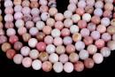 Pink opal, round, 8mm