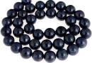 Blue sapphire, natural stone, round, 10mm