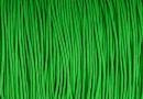 Snur matase cu guta, pentru bratari, verde, 0.8mm - x5m