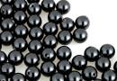 Perle Swarovski cu un orificiu, black, 5mm - x4