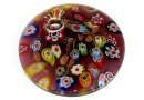 Pandantiv sticla Murano, 45mm - x1