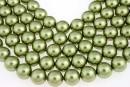 Perle Swarovski, light green, 3mm - x100