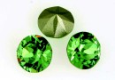 Swarovski, chaton SS29, fern green, 6mm - x4
