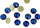 Swarovski, cabochon, bermuda blue, 4.6mm - x10