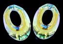 Swarovski, pandantiv helios, aurore boreale, 20mm - x1