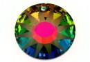 Swarovski, pandantiv Sun frosted, vitrail medium, 33mm - x1