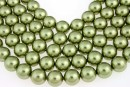 Perle Swarovski, light green, 14mm - x2
