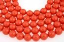 Perle Swarovski, coral, 14mm - x2
