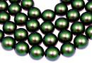 Perle Swarovski, scarabaeus green, 10mm - x20