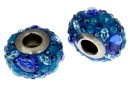 Swarovski, becharmed pave, blue - x1