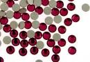 Swarovski rhinestone ss12, ruby, 3mm - x20