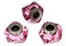 Swarovski, becharmed helix rose, 14mm - x1