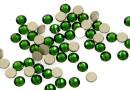 Swarovski rhinestone, dark moss green, ss7, 2.15mm - x20