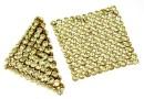 Swarovski Crystal mesh, jonquil, 3.2x3.2cm - x1