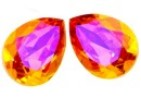 Swarovski, fancy picatura, astral pink, 8x6mm - x2
